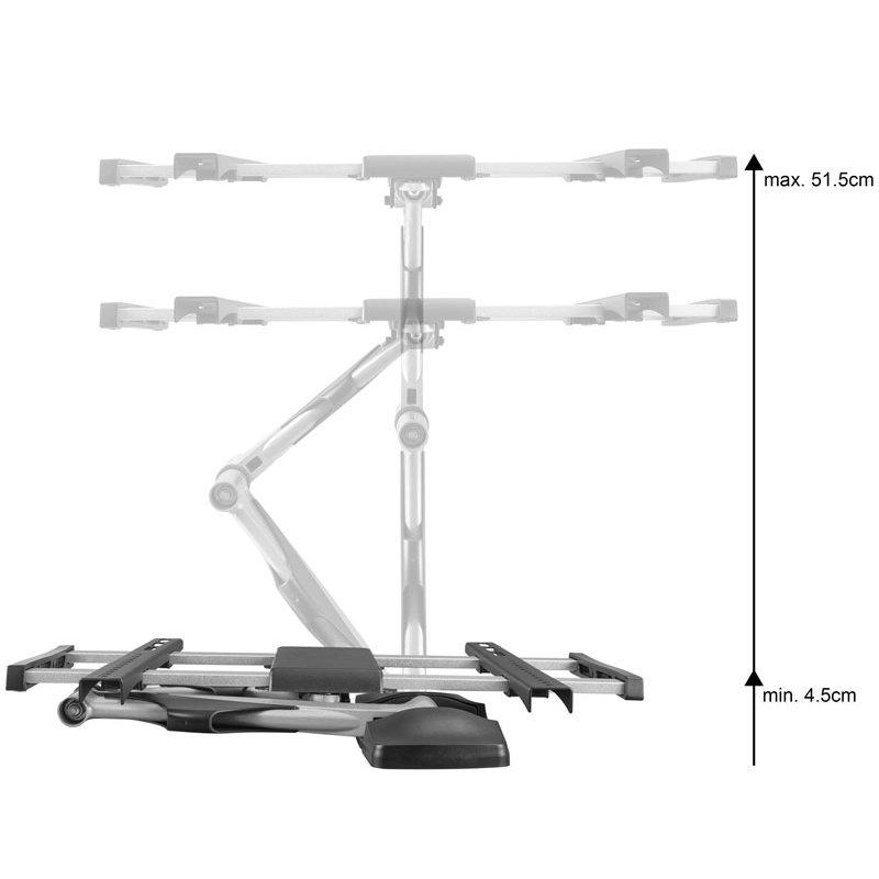 support mural tv pivotant 32 55 xantron topline 442 s. Black Bedroom Furniture Sets. Home Design Ideas
